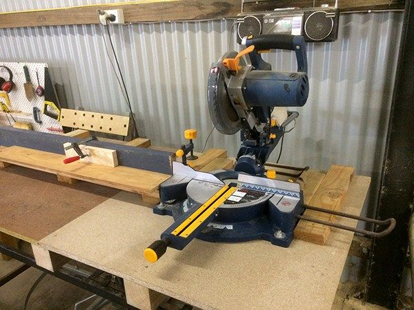 set your miter saw