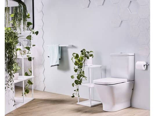 Rimless back to wall toilets